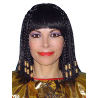 Wig- Deluxe Cleopatra- Braids W/Gold Trim