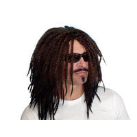 Wig - Rasta Deluxe - Dark Brown