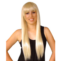 Wig- Abba/Paris Long Blonde W/Fringe