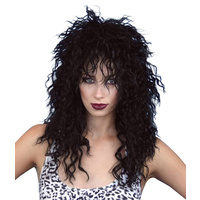Wig - Rock Chick - Black