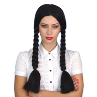 Wig - Wednesday Adams - Black