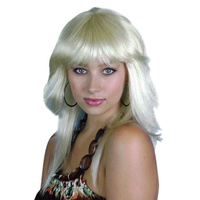 Wig - Blonde Retro 80S Layered