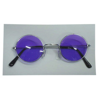 Glasses - Lennon Sunglasses - Purple