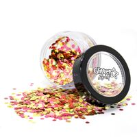 Bio Degradable Loose Glitter (Blend) - Rose Gold