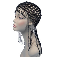 Head Dress - Egyptian/Arabian/Flapper - Black
