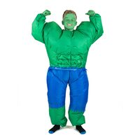Kids Green Man Costume