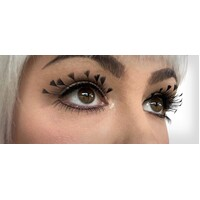 Eyelash - Feather Tips Black