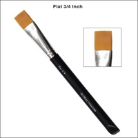 Acrylic Brush Flat 3/4 Inch