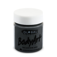 Black Face Paint - 45Ml Tub