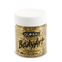 Gold Glitter Face Paint - 45Ml Tub