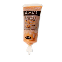 Gold Metallic Face Paint-15Ml Tube