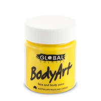 Yellow Face Paint - 45Ml Tub