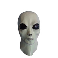 Latex Mask Alien Glow in the Dark
