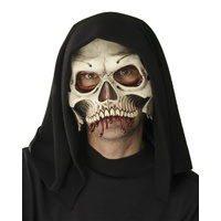 Hooded Cranium Half Mask