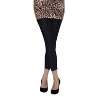 Tights - Lycra Footless Tights - Black
