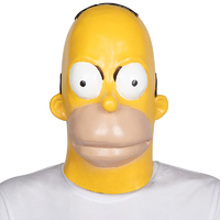 Latex Mask - Cartoon Simpson