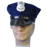 Hat- Policeman Hat - Navy Blue (A)