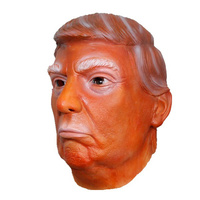Latex Mask - Trump - Orange