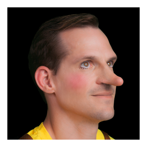 Black Label Latex Pinnochio Nose