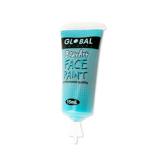 Turquoise Face Paint - 15Ml Tube