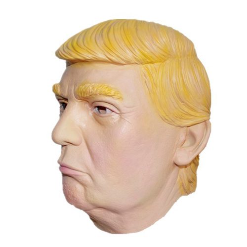 Latex Mask - Trump - Yellow